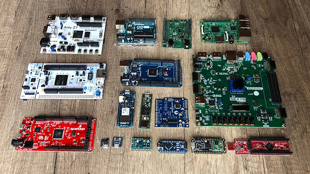 Developer-Boards Arduino, Raspberry, STM32, FPGA